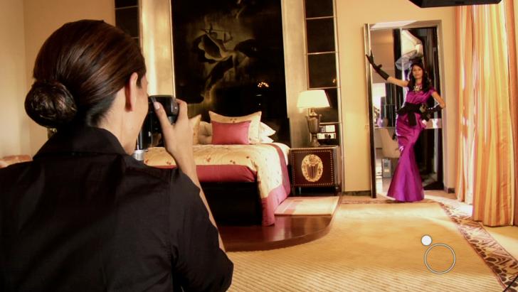 Daniela Federici in Umaid Bahwan Maharani Suite in Jodphur, India