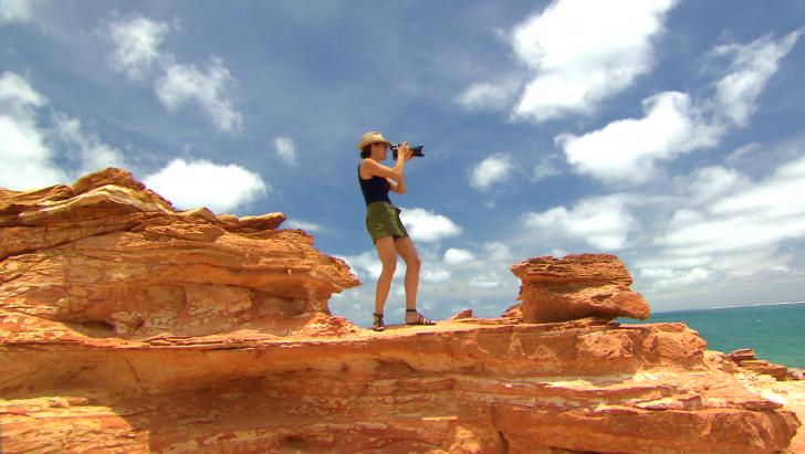 Daniela Federici in Broome, Australia - Ganthaeume Point, Episode 9