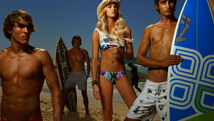 Daniela Federici Vanity Fair Sydney Bondi Beach