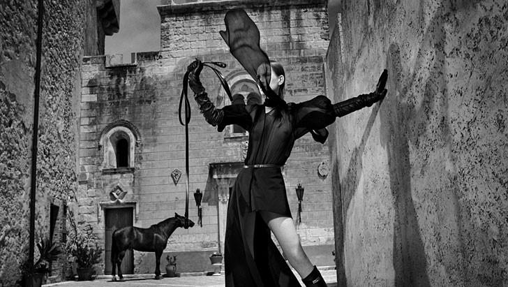 Daniela Federici Vogue Catania Sicily